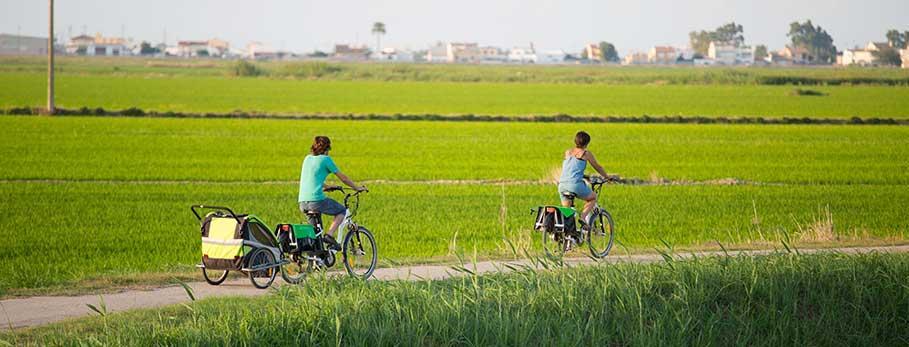 Ruta Ebike Centre Món Natura Delta de l'Ebre